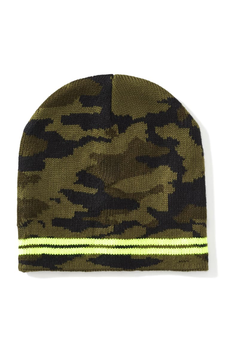 Camo Beanie front