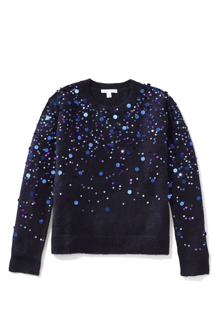 Paillette Sprinkle Sweater front
