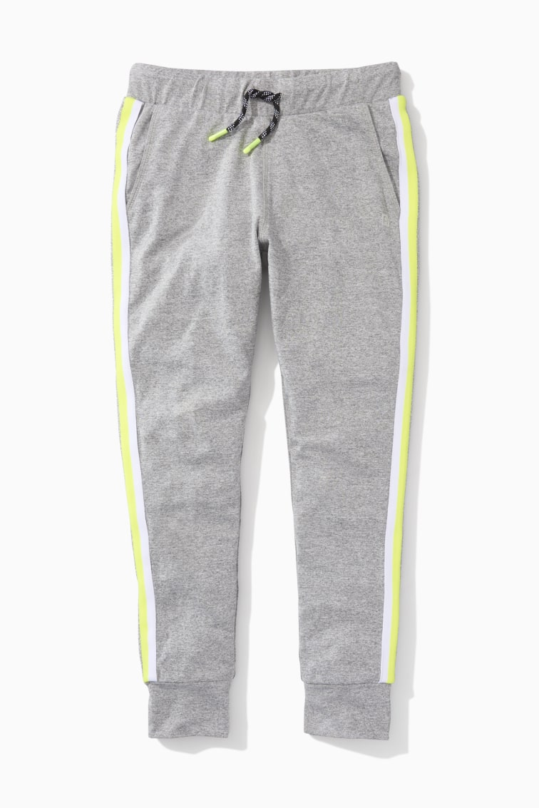 Rainbow Side Stripe Active Jogger front