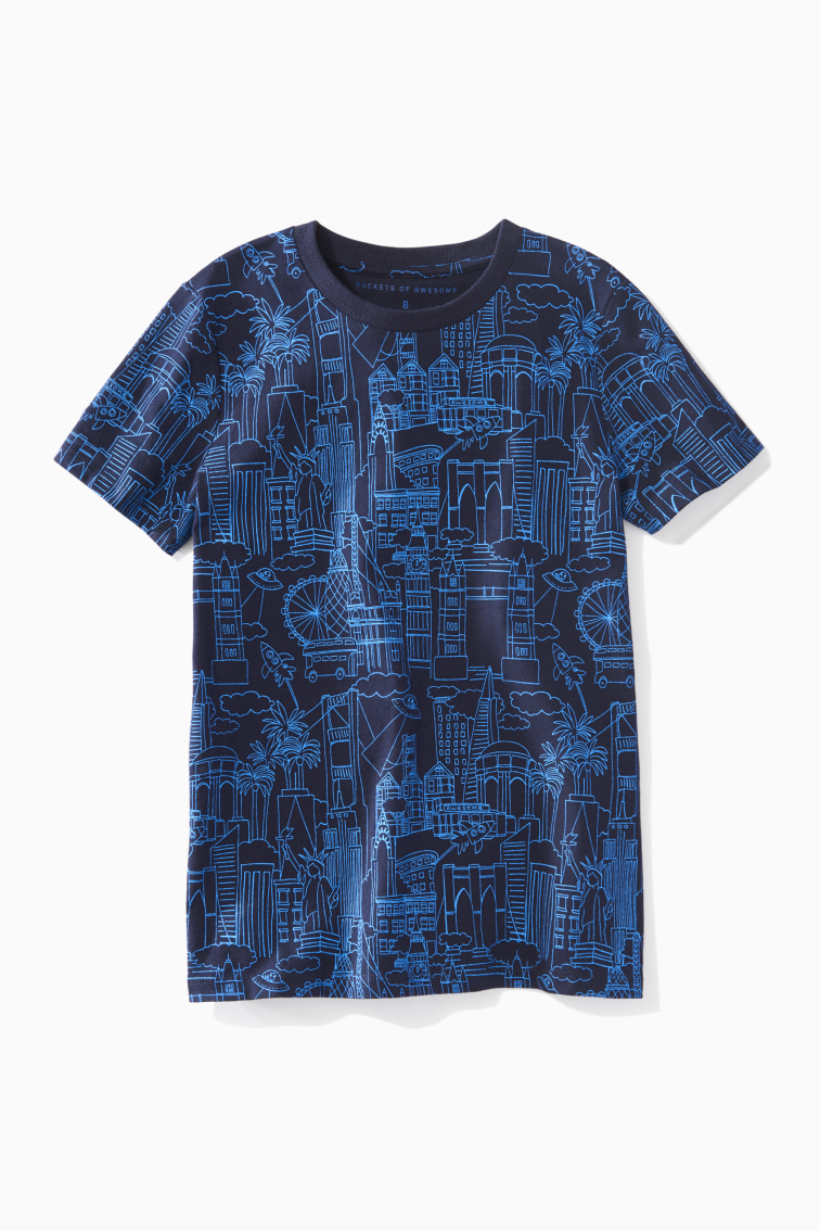 City Doodle Tee front