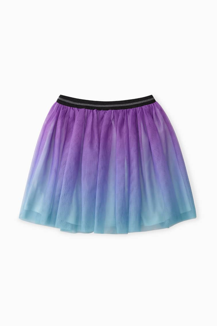 Ombre Magic Tulle Skirt front
