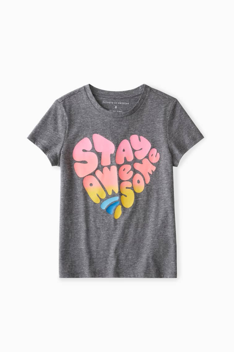 Stay Awesome Tee front