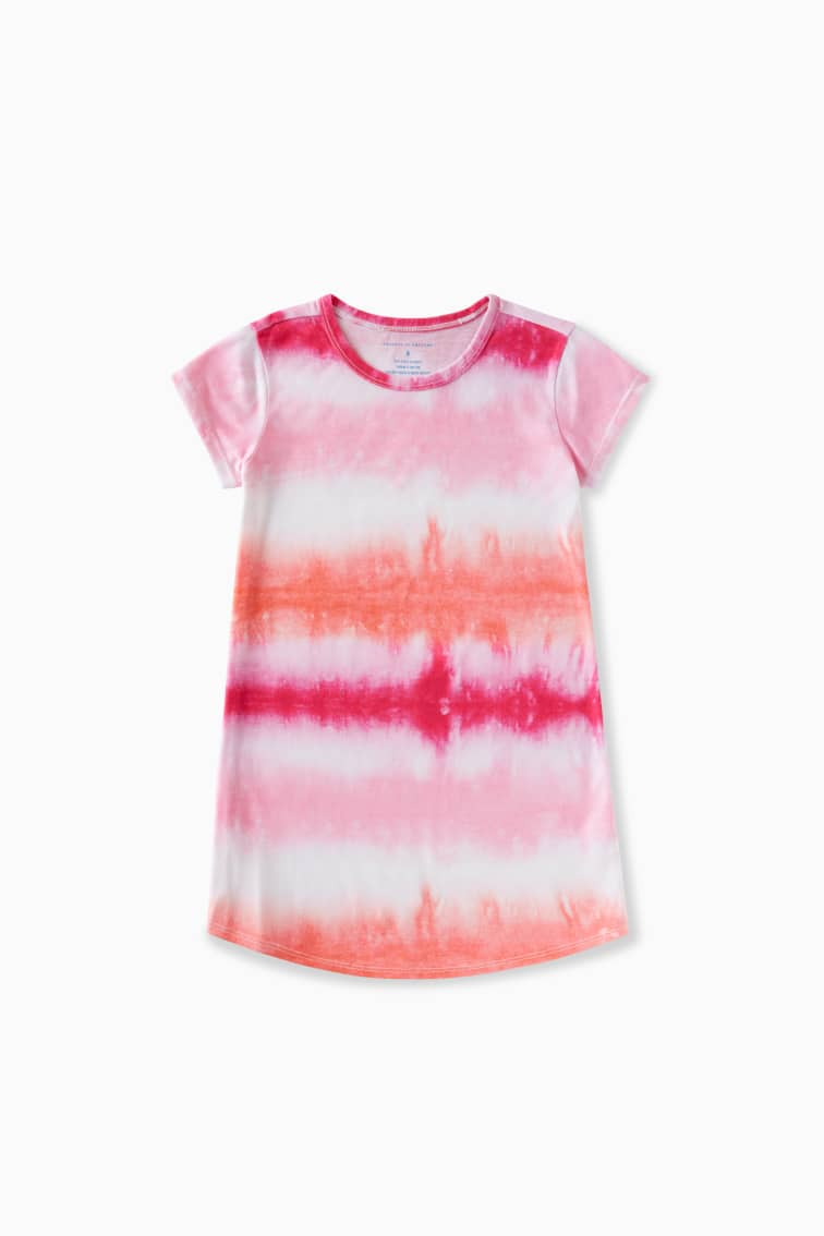 Tie-Dye Sleep Dress front