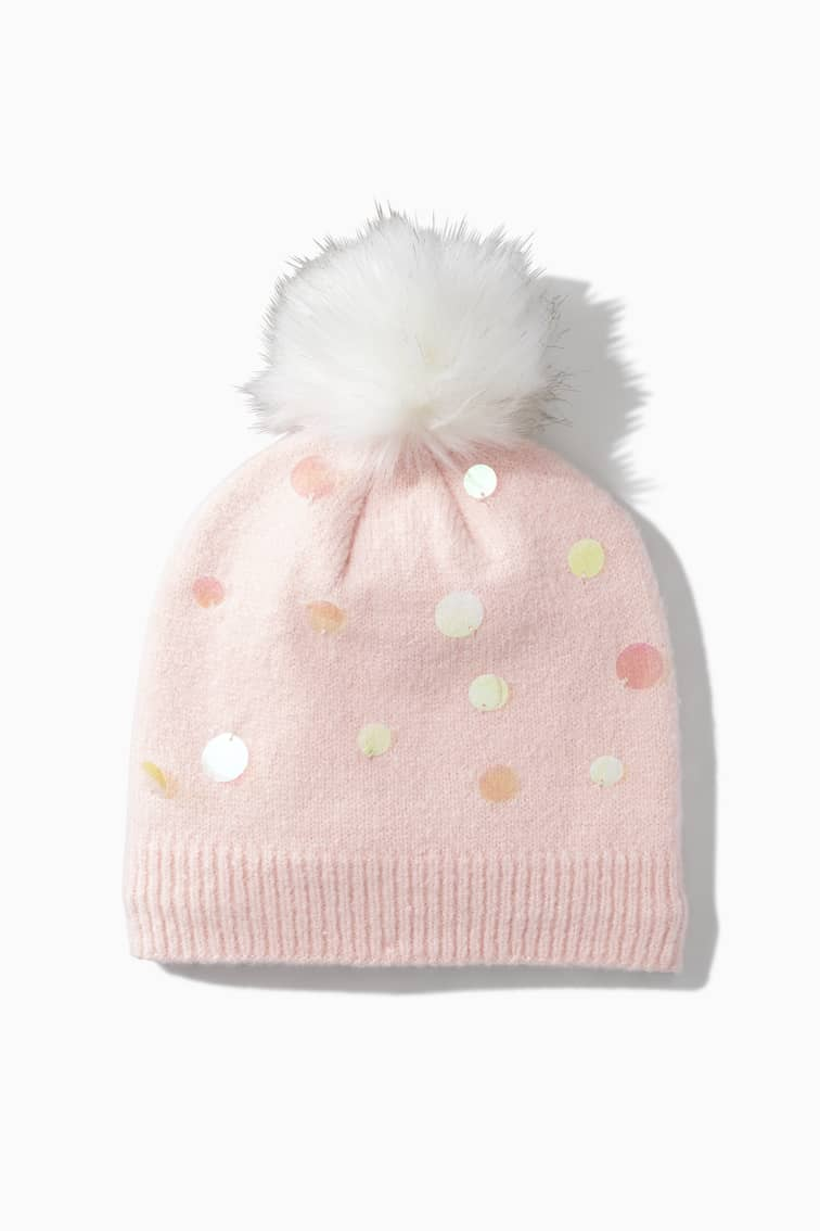 Magical Paillette Sequin Beanie front