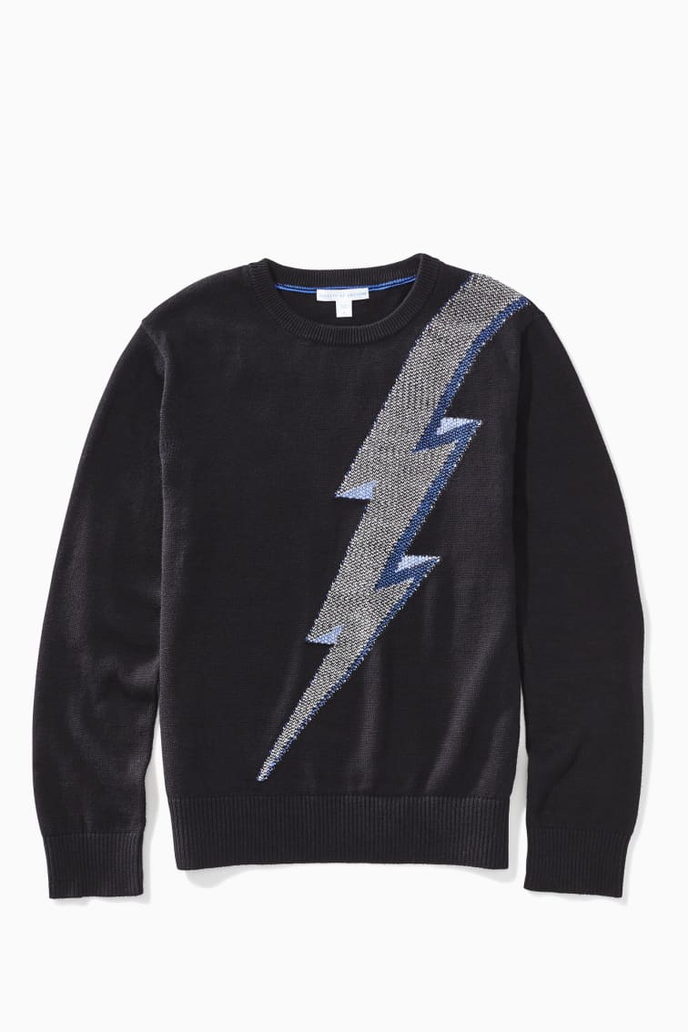 Lightning Sweater front