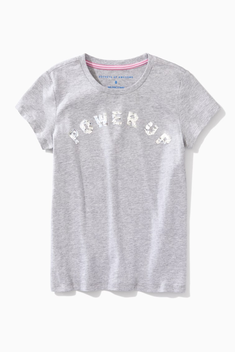Power Up Tee front