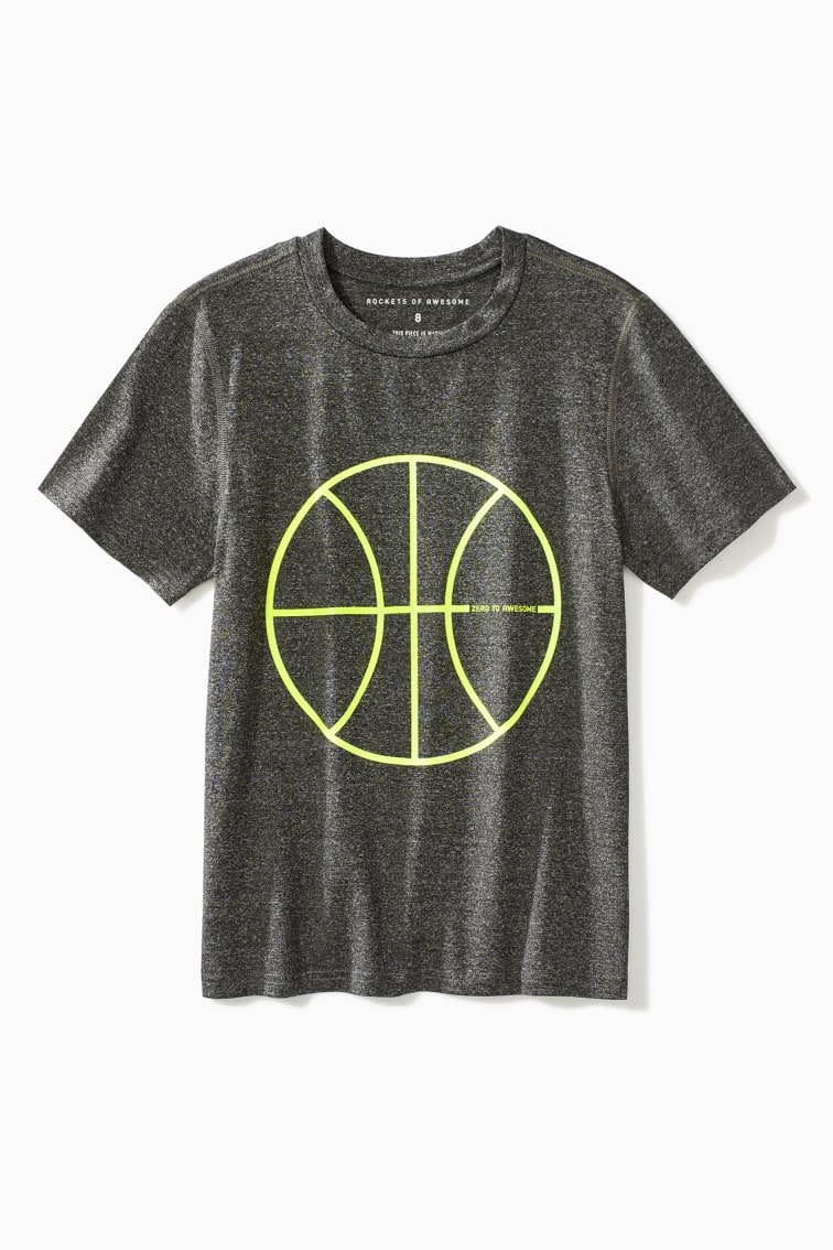 Basketball Active Tee front