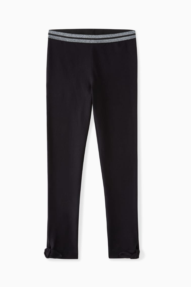 Ankle-Tie Legging front