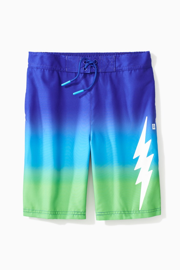 Ombre Lightning Trunk front