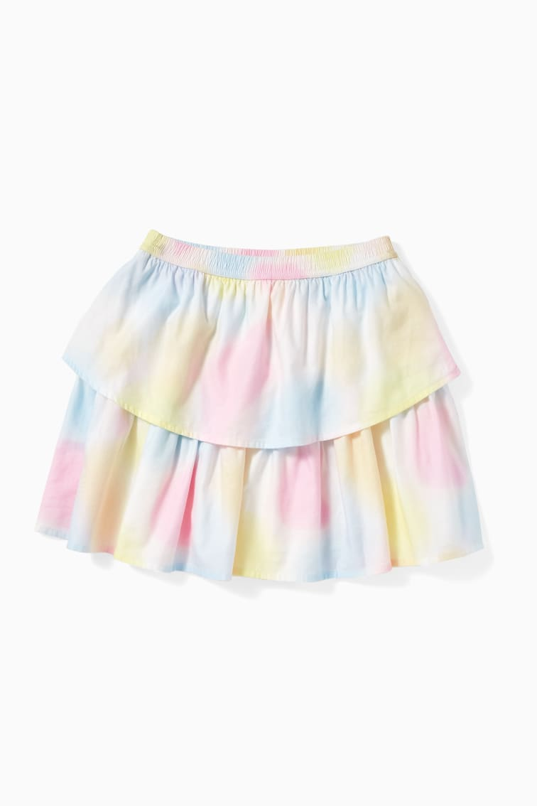 Ombre Petal Skirt front