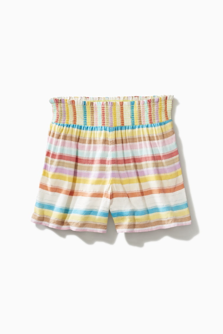 Rainbow Stripe Short front