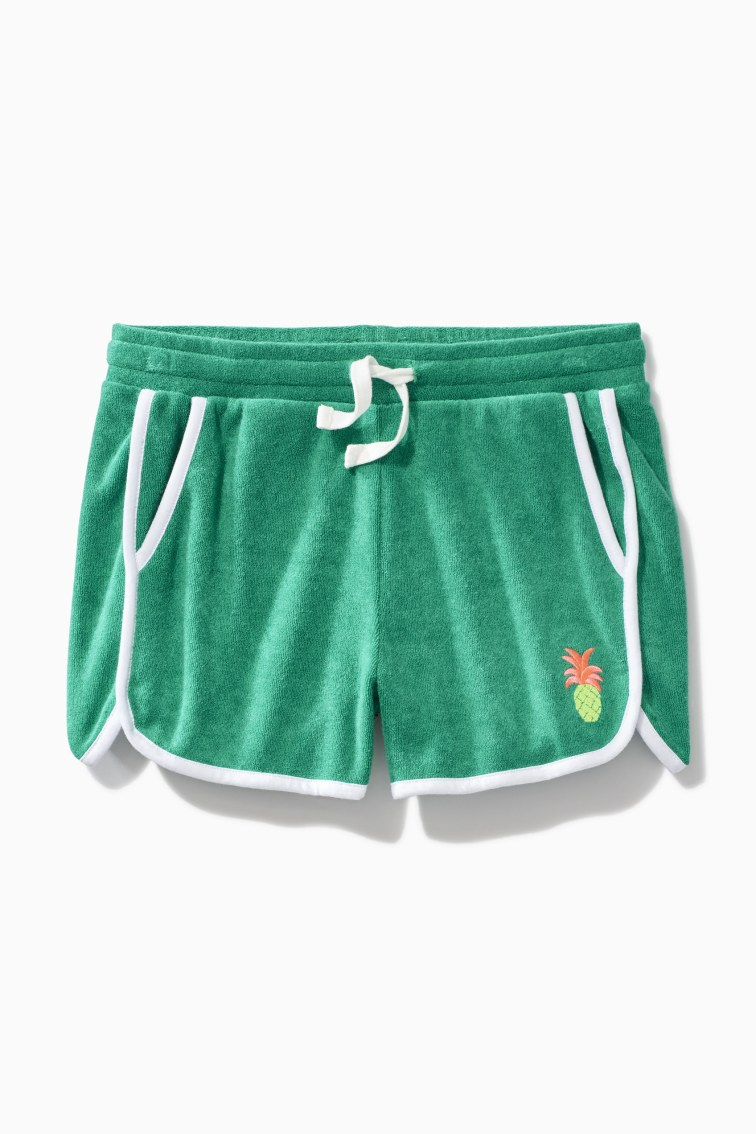 Towel Terry Track Short front