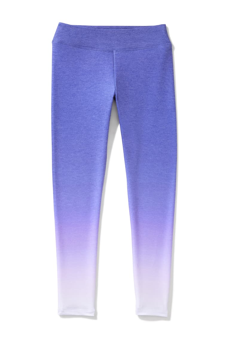 Purple Ombre Legging front