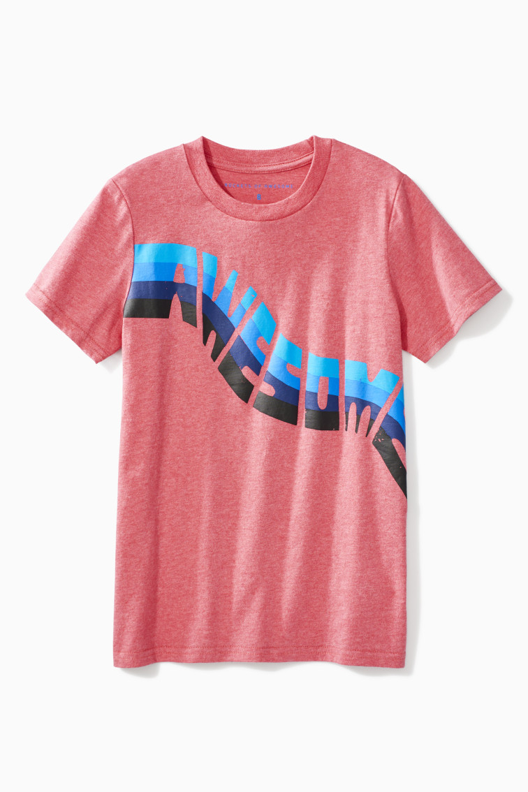 Awesome Wave Tee front