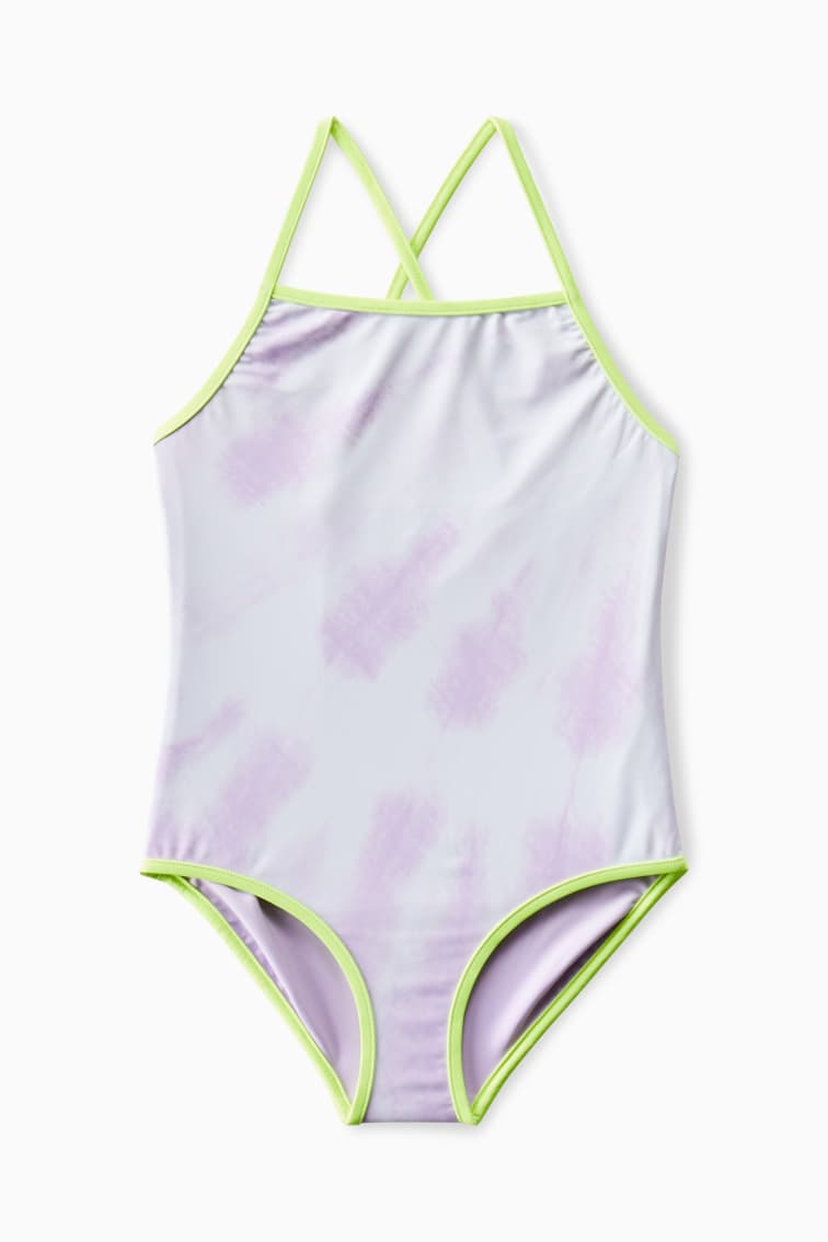 Reversible Tie-Dye Ombre One-Piece front