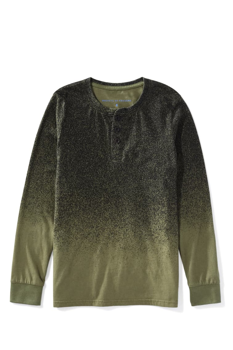 Static Noise Henley front