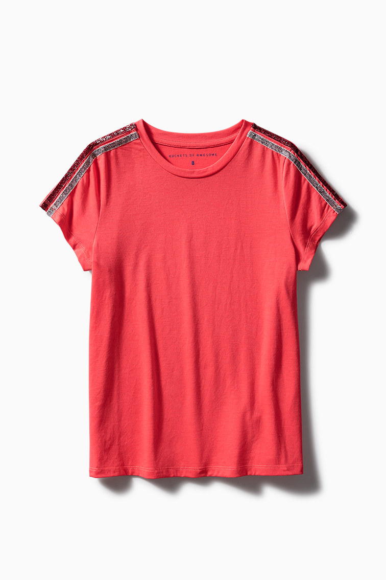 Bold Shoulder Tee front