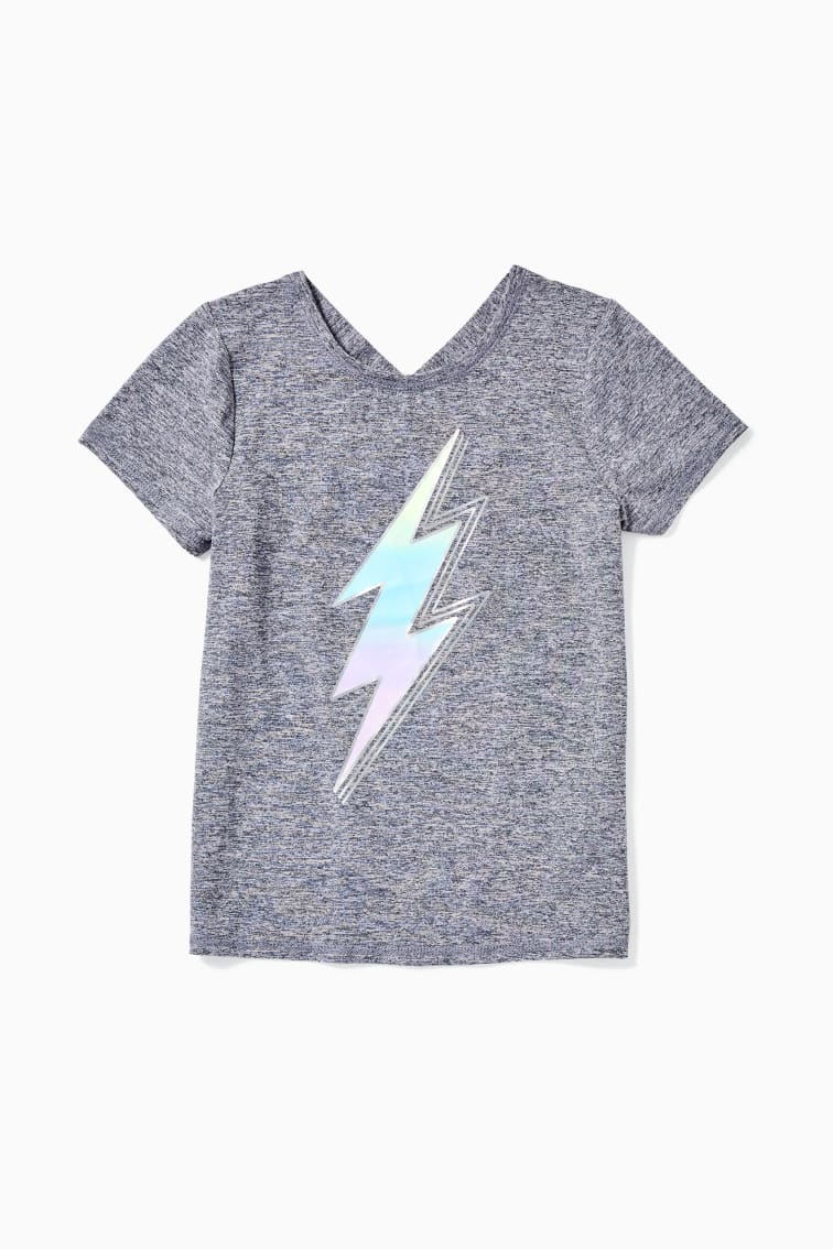Lightning X-Back Active Tee front