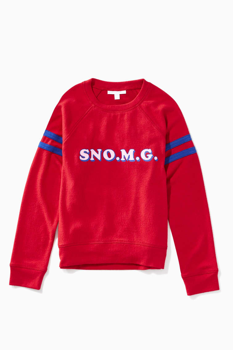 Snow Chill Comfy Crew front