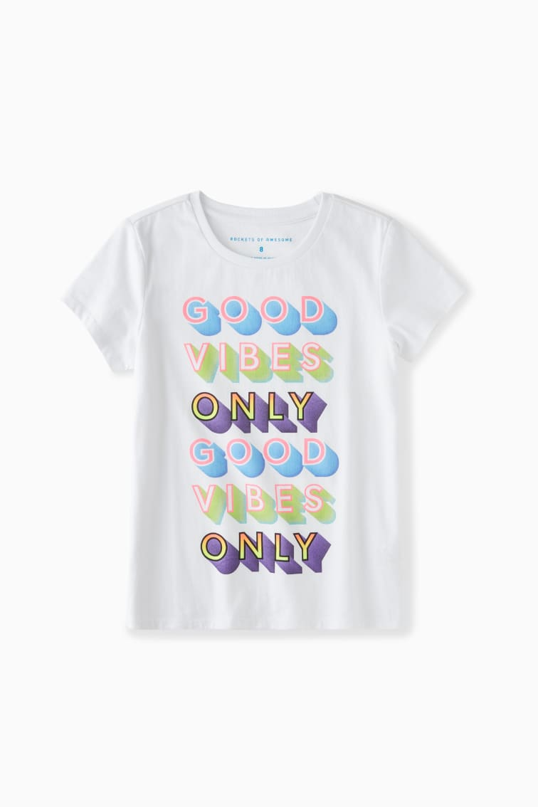 Good Vibes Only Tee front