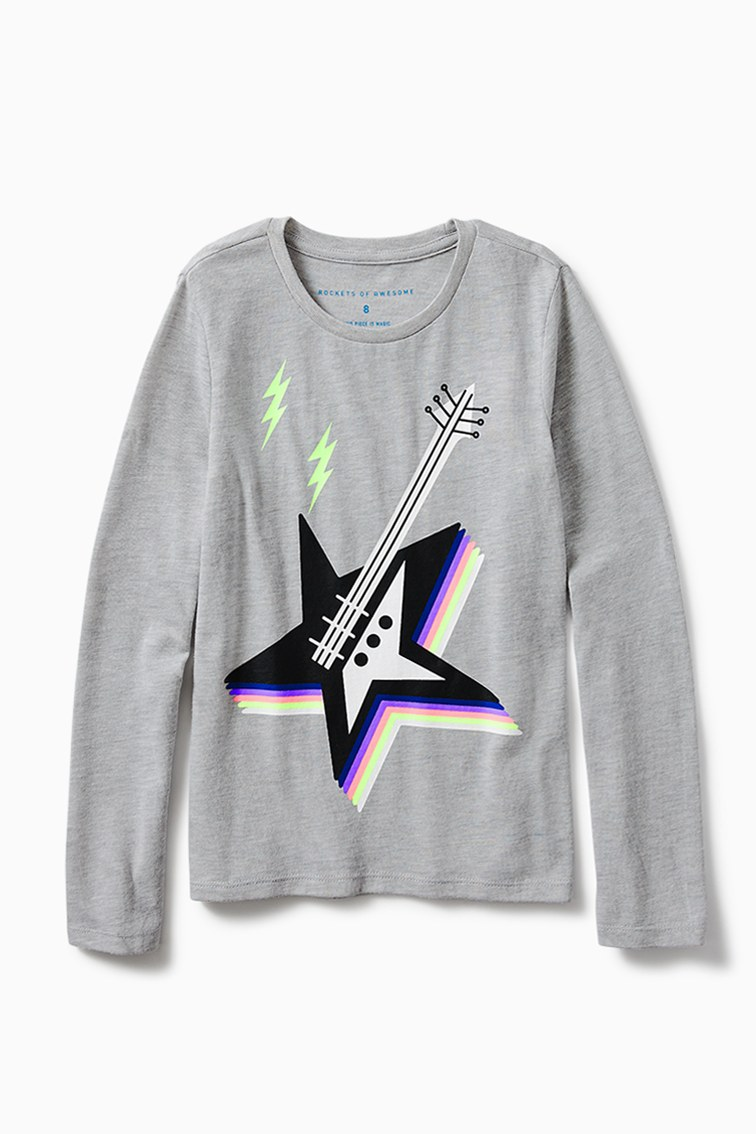 Star Guitar Tee front