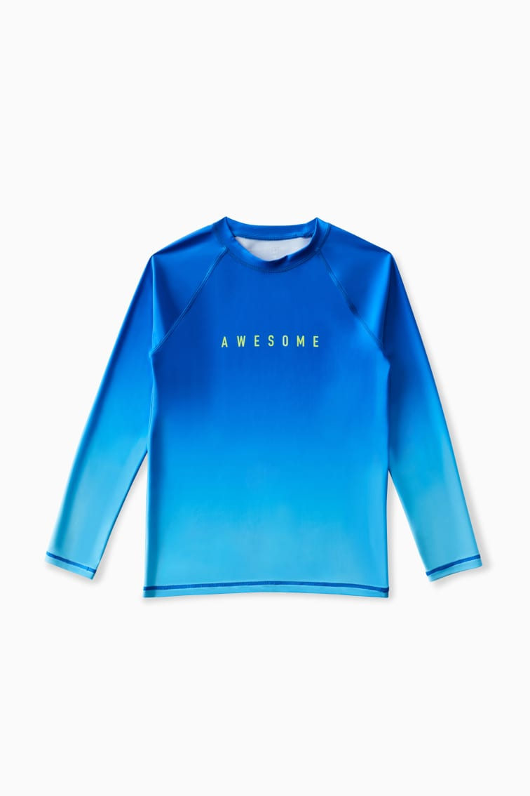 Awesome Ombre Rashguard front