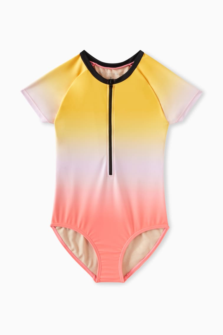 Ombre Rashguard One-Piece front