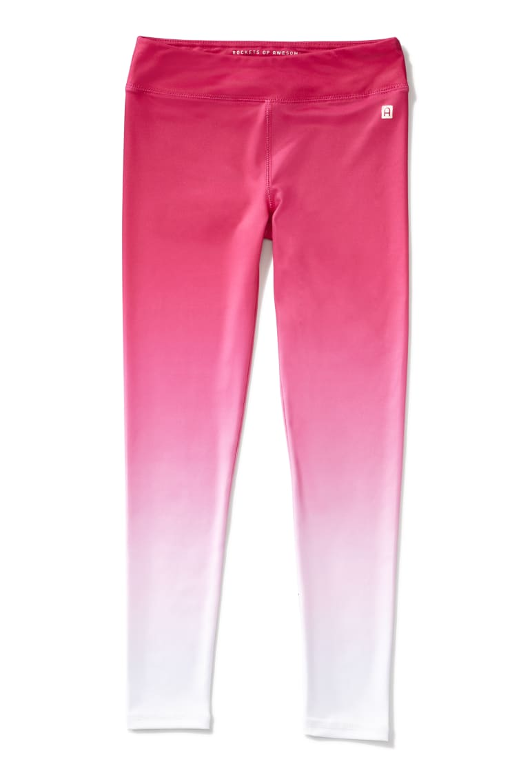 Pink Ombre Active Legging front