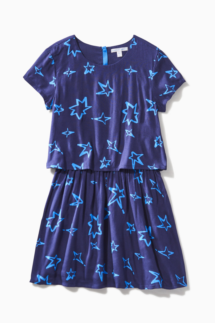 Star Woven Dress front