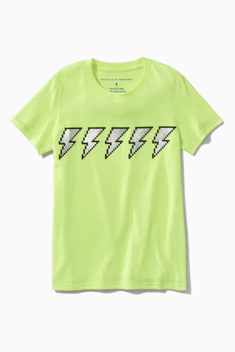 Lightning Tee front