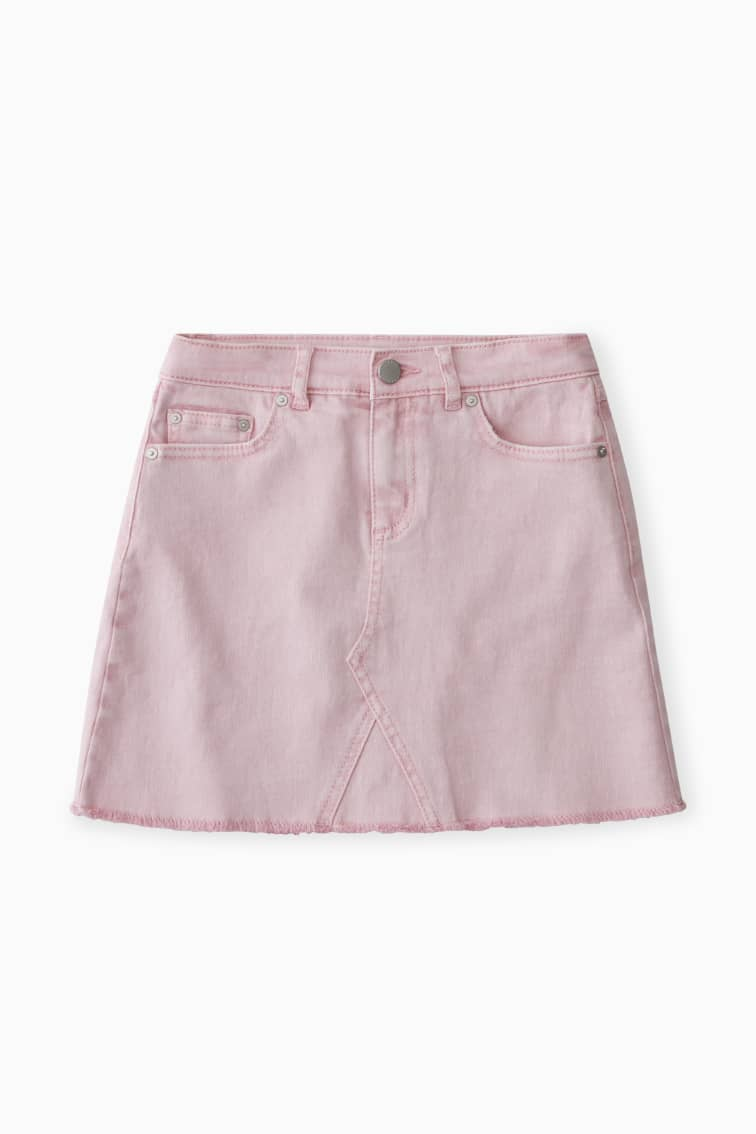 5-Pocket Denim Skirt front