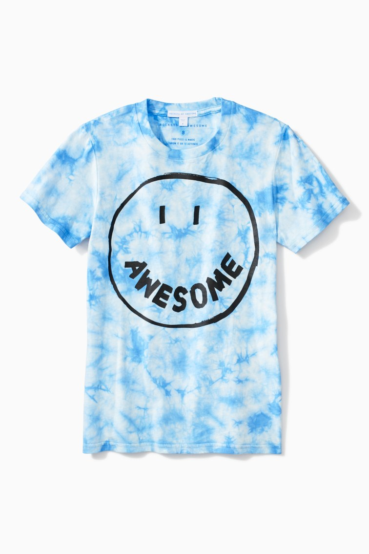 Awesome Tie Dye Tee front