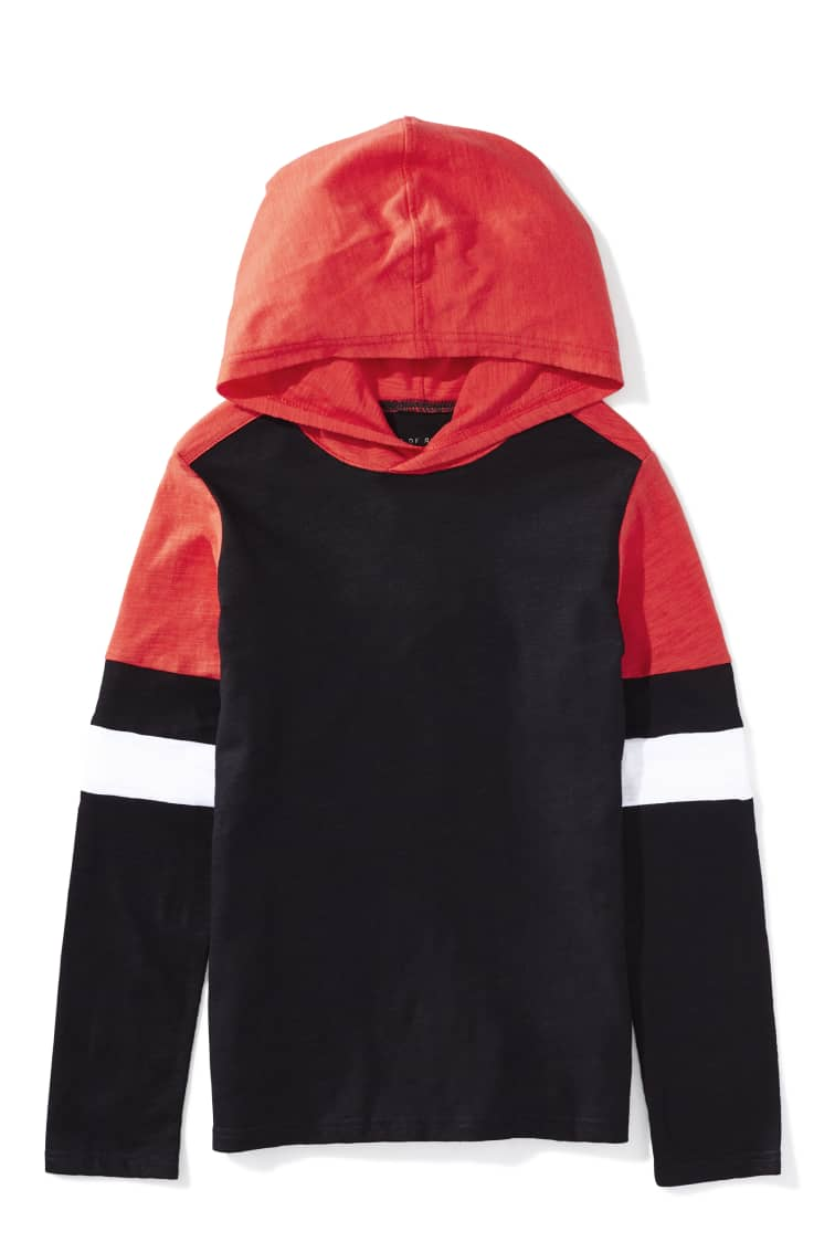 Red Rover Hoodie Tee front