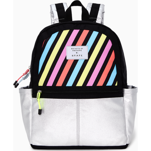 Rockets Of Awesome X State Backpack In Pastel Rainbow