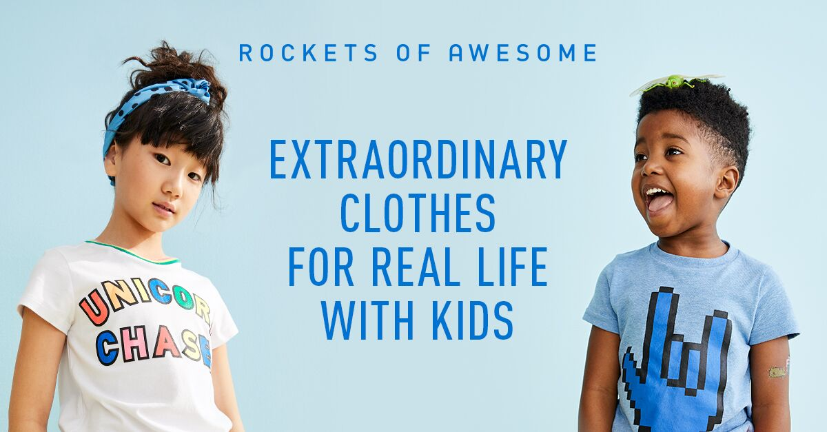 42ee6d3820a0 Rockets of Awesome | Super Cool, Stylish Kids Clothes